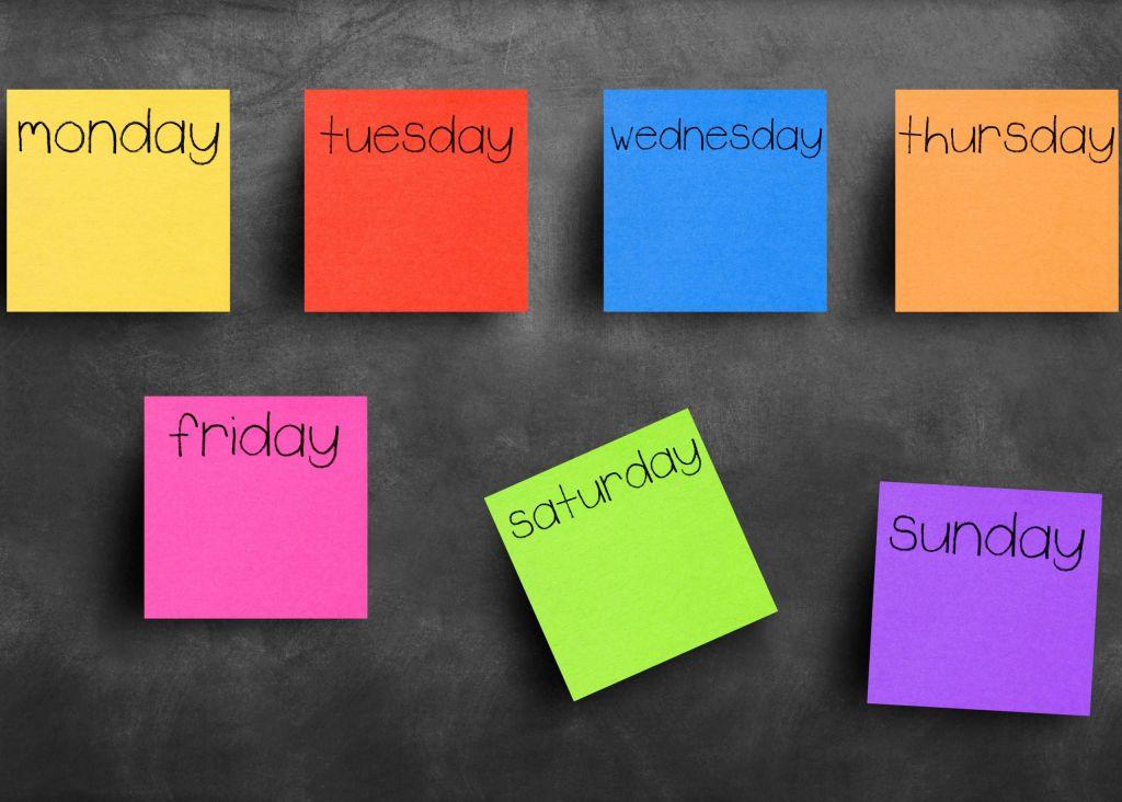 بهترین روزهای هفته برای معامله در فارکس